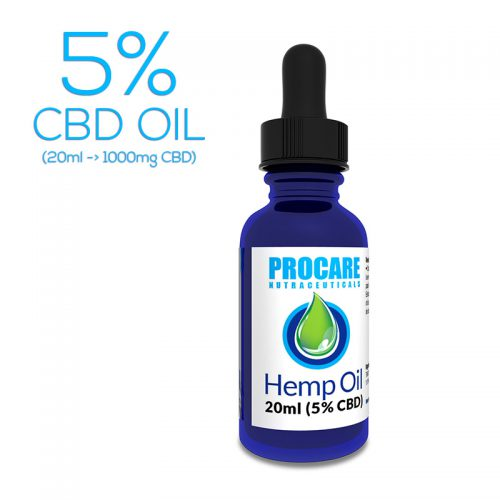 PROCARE 5% CBD OIL (20ML)