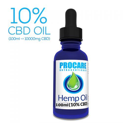 PROCARE 10% CBD OIL (100ML)