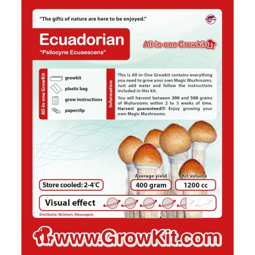 Ecuadorian All-in-one GrowKit
