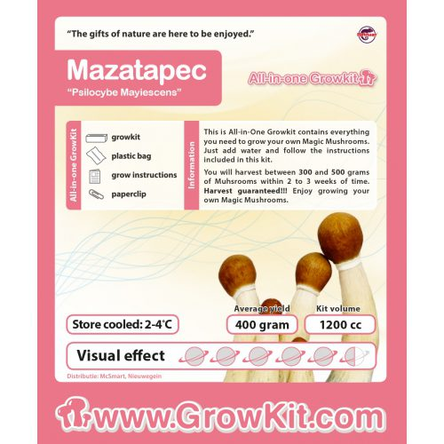 Mazatapec All-in-one Growkit