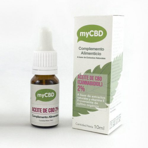 2% CBD OIL 10ML - MyCBD