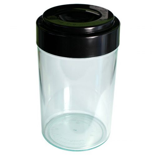 Breadvac 10 Ltr. Clear + Solid Black Lid