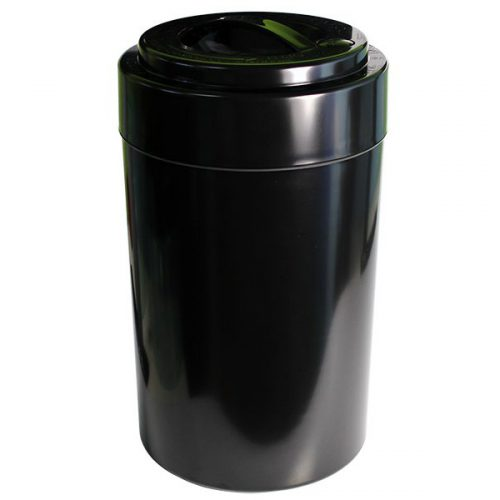 Breadvac 10 Ltr. Solid Black + Solid Black Cap