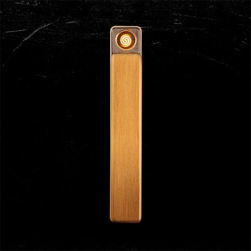 Novi Metal USB Lighter Gold