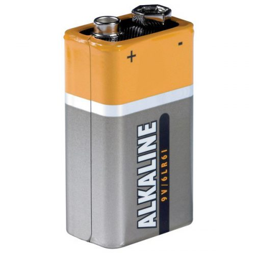 BATTERIES 9VOLT PP3 (1x)