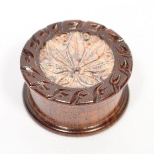Hand Carved Wooden Herb Grinders