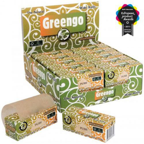 GREENGO ROLLS WIDE (53mm) DISPLAY BOX 24pcs
