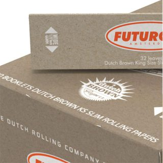 FUTUROLA KSS DUTCH BROWN ORANGE DISPLAY BOX